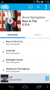 Album view with similar albums